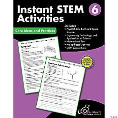 STEM Instant Activities Workbook, Grade 6