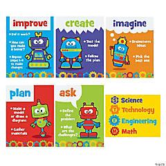 STEM Robots & Gears Posters