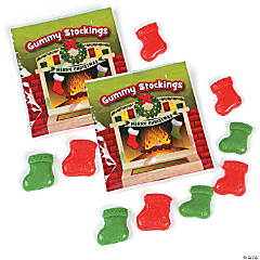 Stockings Gummy Candy Fun Packs