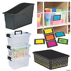 Storage Bin & Label Kit