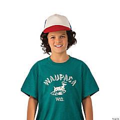 Stranger Things Boys Dustin's Waupaca Shirt L