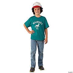 Stranger Things Kids Dustin's Waupaca T-Shirt Kit L