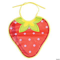 Strawberry Party Bib
