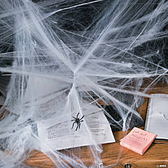 Stretchable Spider Webs Halloween Decoration