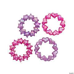Stretchy Stars & Hearts Bracelets