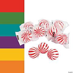 Striped Hard Candy Balls