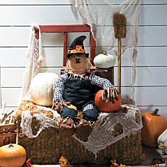 Stuff-a-Scarecrow Halloween Decoration
