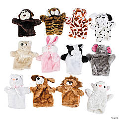 Stuffed Animal Hand Puppets