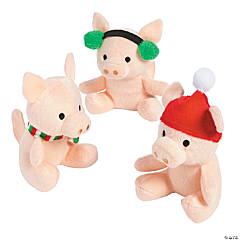 Stuffed Christmas Pigs