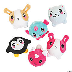 Stuffed Cute Animal Squishy Assortment