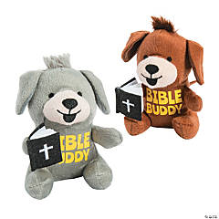 Stuffed Dog Prayer Buddies