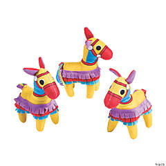 Stuffed Donkey Piñatas