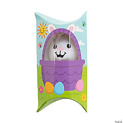 Stuffed Easter Bunny in Basket Containers