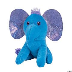 Stuffed Elephants with Shiny Ears