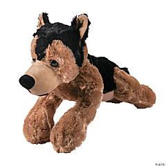 Stuffed German Shepherd