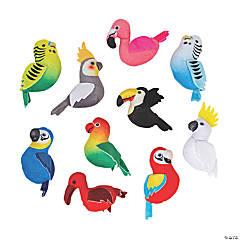 Stuffed Tropical Bird Assortment