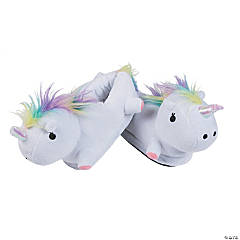 Stuffed Unicorn Slippers