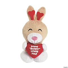 Stuffed Valentine Bunnies