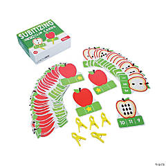 Subitizing Apples Clip Cards