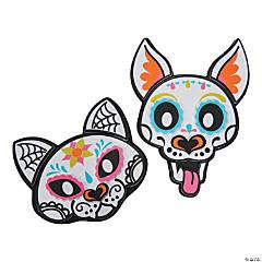 Sugar Skull Dog & Cat Magnet Kit