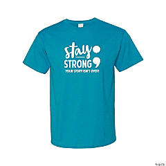 Suicide Awareness Adult's T-Shirt - Extra Large