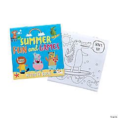 Summer Fun & Games Activities Books