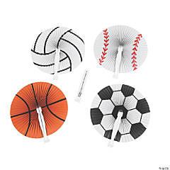 Summer Sports Folding Hand Fans
