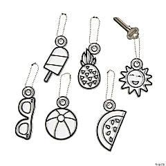 Summer Suncatcher Keychains