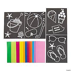Summertime Dot Sticker Art Sheets