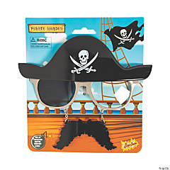 Sun-Staches® Pirate Sunglasses