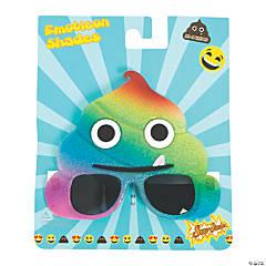 Sun-Staches® Rainbow Poop Sunglasses