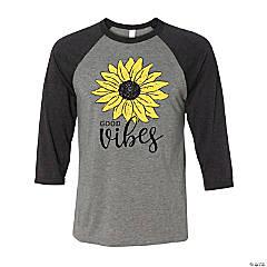 Sunflower Good Vibes Adult's T-Shirt