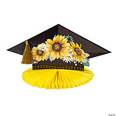 Sunflower Graduation Party Centerpiece