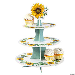 Sunflower Party Cupcake Stand