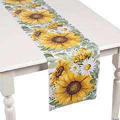 Sunflower Party Paper Table Runner