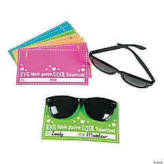 Sunglasses with Valentine's Day Card