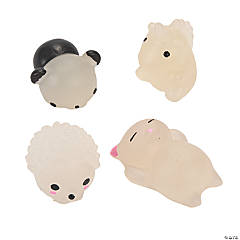 Sunlight-Change Mochi Animal Squishies