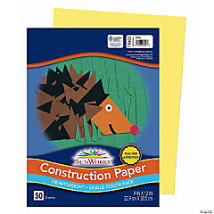 Sunworks® Construction Paper - Yellow