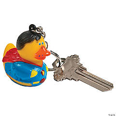 Super Awesome Hero Duck Collectable Key Chains