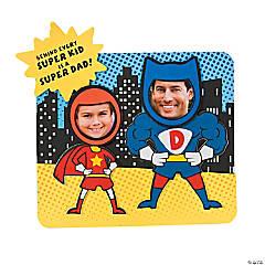 Super Dad Picture Frame Magnet Craft Kit