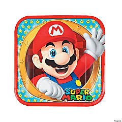 Super Mario Brothers™ Paper Dinner Plates - 8 Ct.