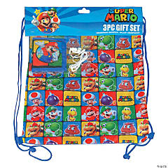 Super Mario™ Drawstring Bag with Wallet & Earbuds