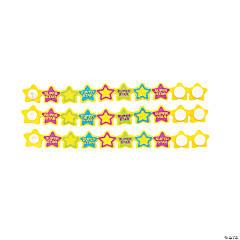 Super Star Student Rubber Bracelets