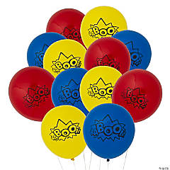 "Superhero 11"" Latex Balloons"