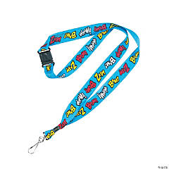 Superhero Breakaway Lanyards