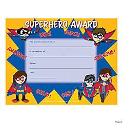 Superhero Certificate - Qty 180