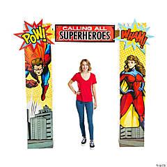 Superhero Column Archway