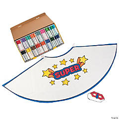 Superhero Costume Craft Pack Assortment