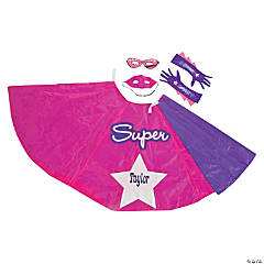 Superhero Costume Kit For Girls