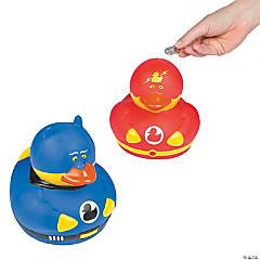 Superhero Duck Coin Banks